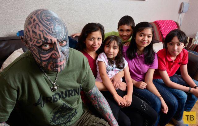 Внезапное преображение отца семейства (15 фото)