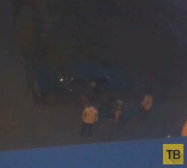 Попытка угона машины во дворе...