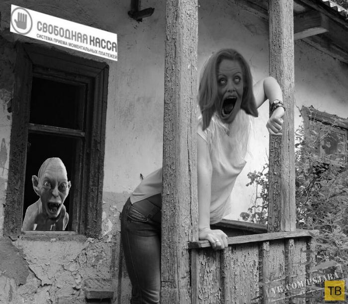 Подборка прикольных работ мастеров фотошопа из социальных сетей (41 фото)
