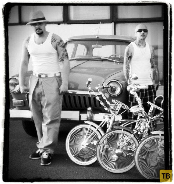 Мексиканские гангстеры Питера (7 фото)