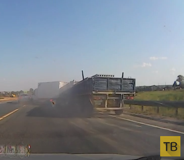 КамАЗ собрал «паровозик» на трассе М7