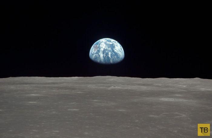 Первая в истории высадка человека на Луну (44 фото)