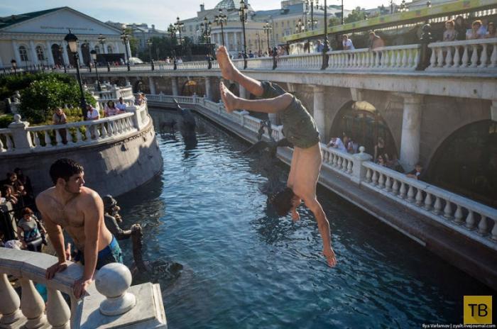Жара в Москве (16 фото)