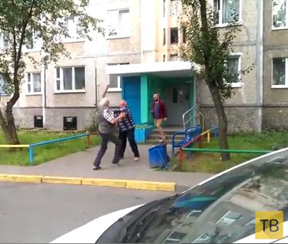 Драка во дворе... г. Минск, Беларусь