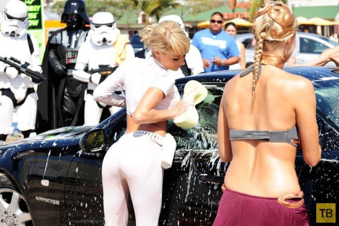 """Бикини-мойка в стиле """"Star Wars"""" (33 фото)"""