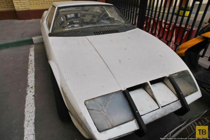 Советский концепт спортивного автомобиля (10 фото)