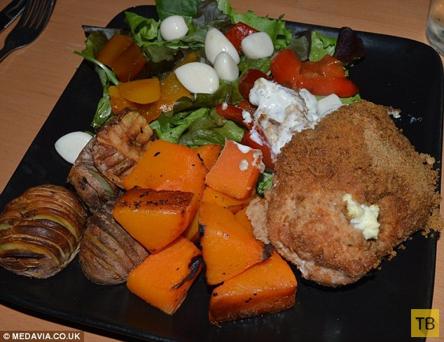 Низкокалорийные блюда мужа-повара, помогли женщине сбросить 57 кг (10 фото)