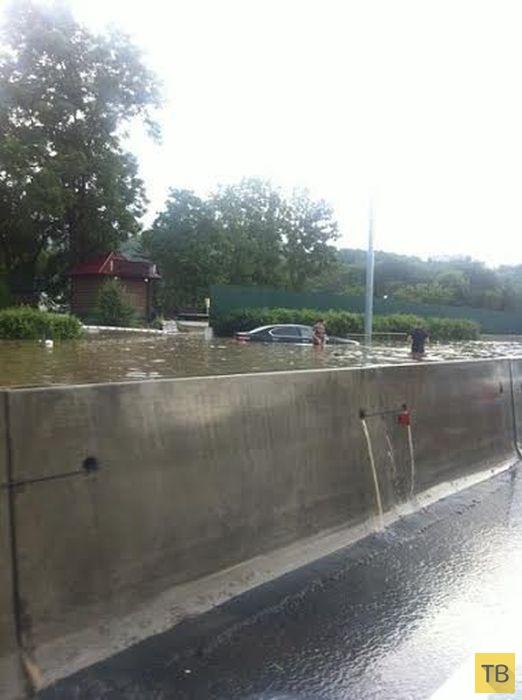 Наводнение во Владивостоке (20 фото)