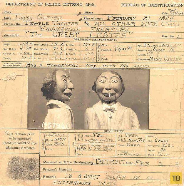 Кукла чревовещателя, обвиненная в убийстве (3 фото)