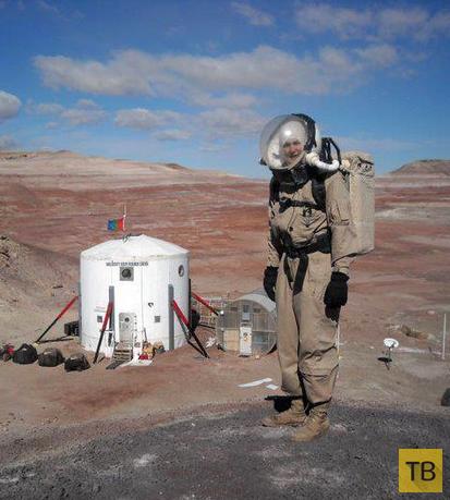 А вы бы согласились пожить на Марсе? (13 фото)