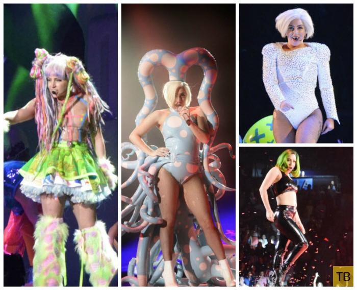 Леди Гага выступает на ArtRave (16 фото)
