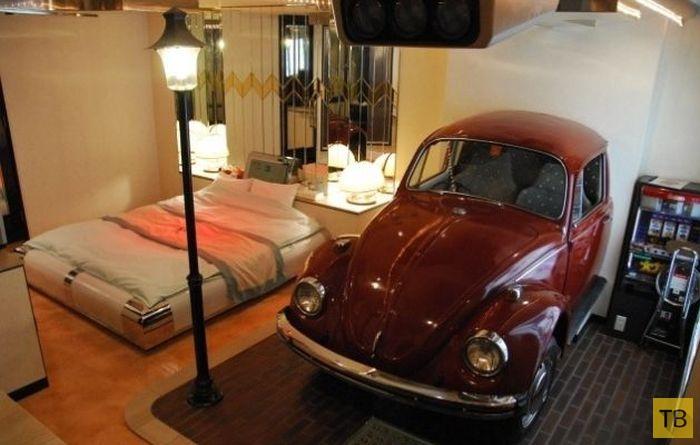 Необычный отель для влюбленных в Японии (21 фото)