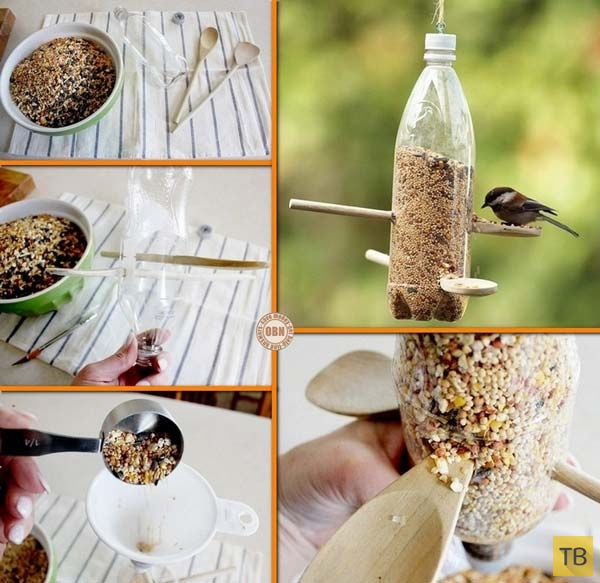 Гениальные способы использования пластиковых бутылок (19 фото)