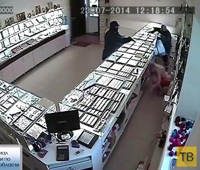 Разбойное нападение на ювелирный магазин... г. Жирновск, Волгоградская область