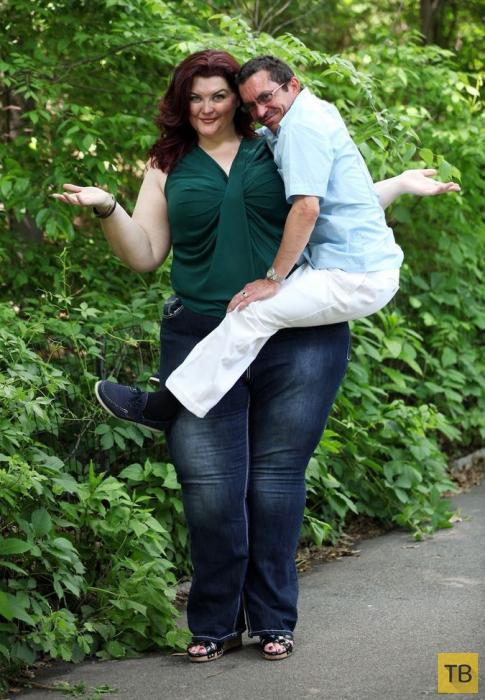 38-летняя Аманда Суле - необычная модель (7 фото + видео))