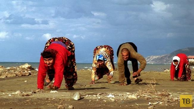 Ученые разгадали тайну турецкой семьи, передвигающейся на четвереньках (4 фото)