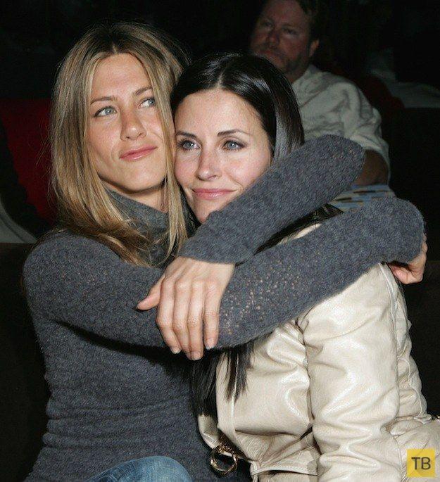 Даже после закрытия сериала Друзья остаются друзьями (13 фото)