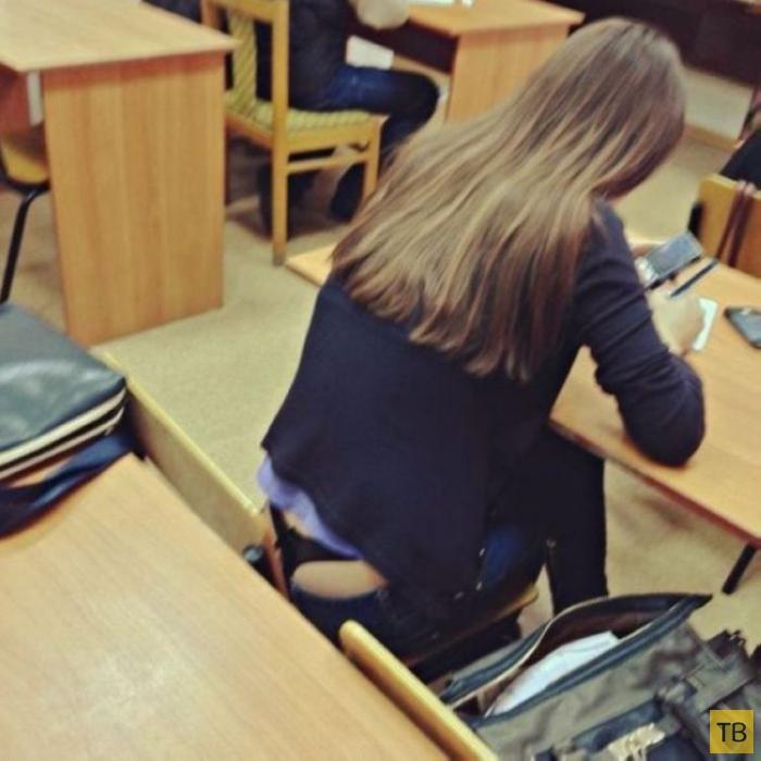 Вот такие сейчас школьницы (17 фото)