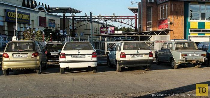 Когда номерной знак стоит дороже авто (4 фото)