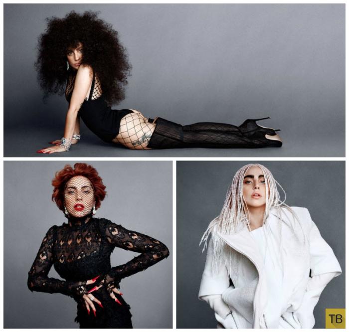 Леди Гага для HARPER'S BAZAAR US SEPTEMBER 2014 (7 фото)