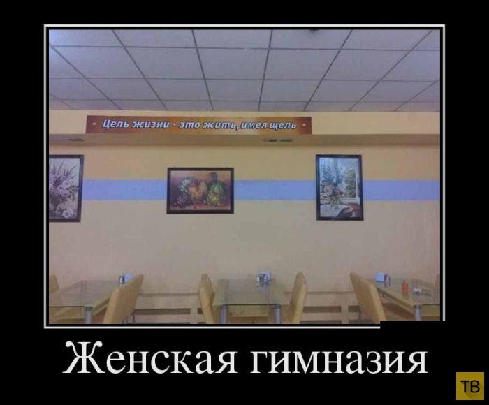 Подборка демотиваторов 04. 08. 2014 (30 фото)