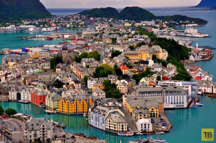 Красивейшие места Норвегии (19 фото)