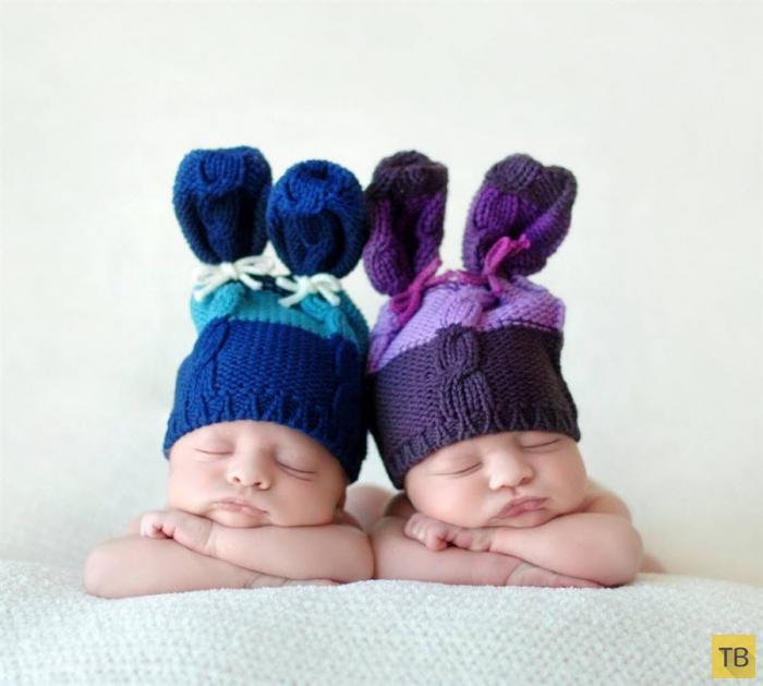 Замечательные и милые фотографии спящих младенцев от фотографа Tracy Raver (13 фото)