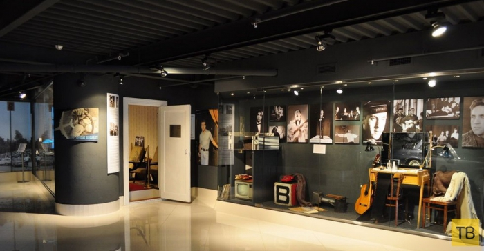 Музей Владимира Высоцкого в Екатеринбурге (10 фото)