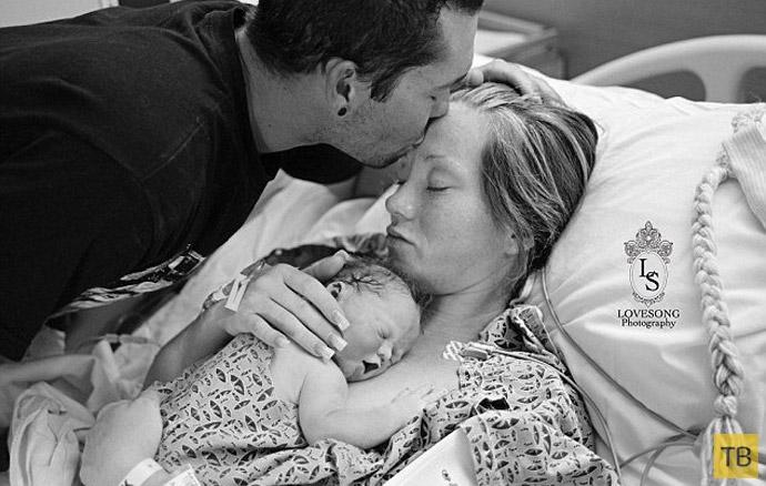 Фотосессия мертворожденного ребенка (3 фото)