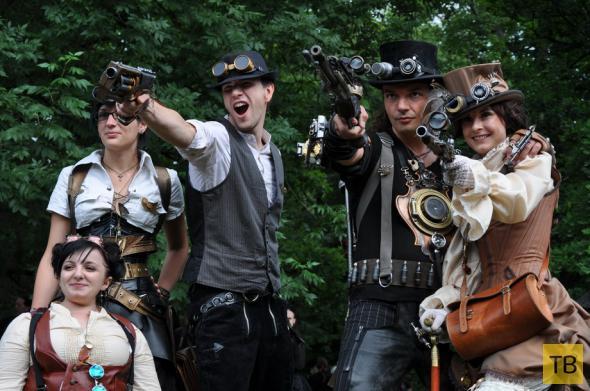 Готический фестиваль в Лейпциге (27 фото)