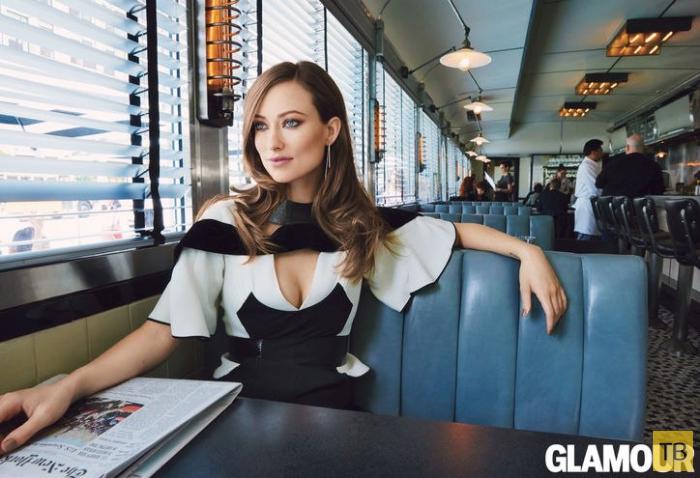 Кормящая грудью Оливия Уайлд для Glamour US Sept 2014  (6 фото)