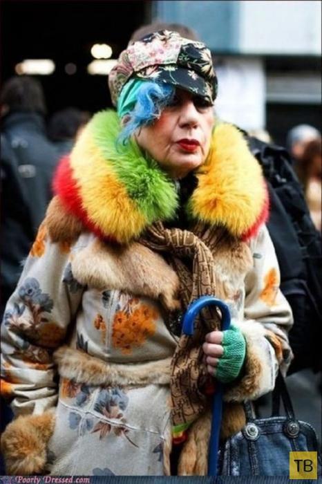 Уличная мода (25 фото)