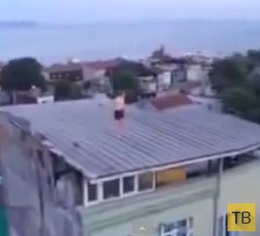 Наркоман пытался нырнуть в бассейн, которого нет... Турция