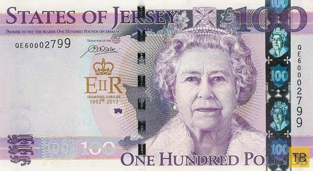 15 банкнот, на которых изображена жизнь Королевы Елизаветы (16 фото)