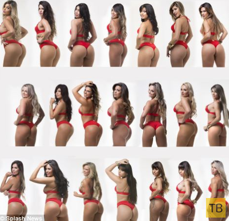 """В Бразилии, Прошел фестиваль """"Мисс Бум-Бум"""" (20 фото)"""