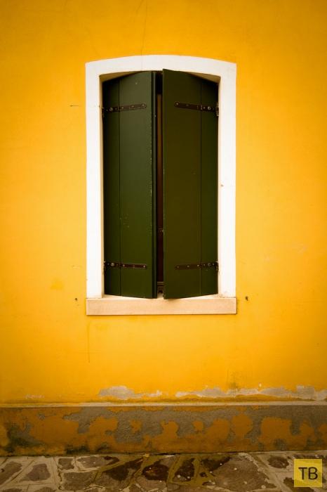 Радужный район Венеции: Бурано (10 фото)