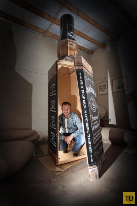 Военный заказал себе необычнй гроб (6 фото)