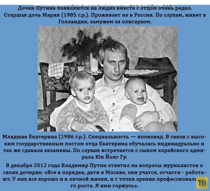 Дети известных политиков (18 фото)