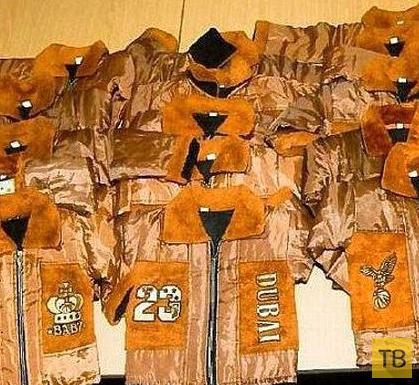 Контрабанда кокаина внутри детской одежды (4 фото)