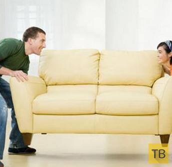 Как правильно носить диван