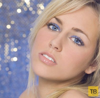 Синие глаза...