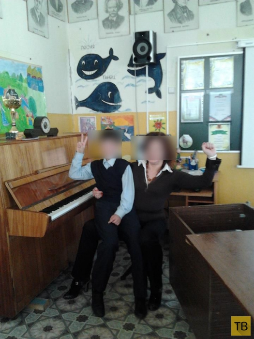 Инциндент в Конаково - эротические фотографии учительницы в Интернете (5 фото)