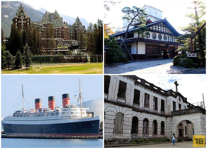 Топ 10: Самые пугающие и необычные отели мира (11 фото)