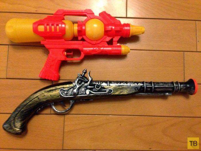 Делаем стимпанк-пистолет своими руками (4 фото)