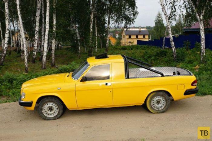 Топ 10: Самые необычные автомобили Сибири (10 фото)