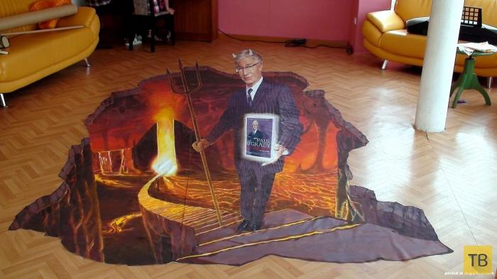 3D-рисунки на асфальте талантливого художника Николая Арндта (43 фото)