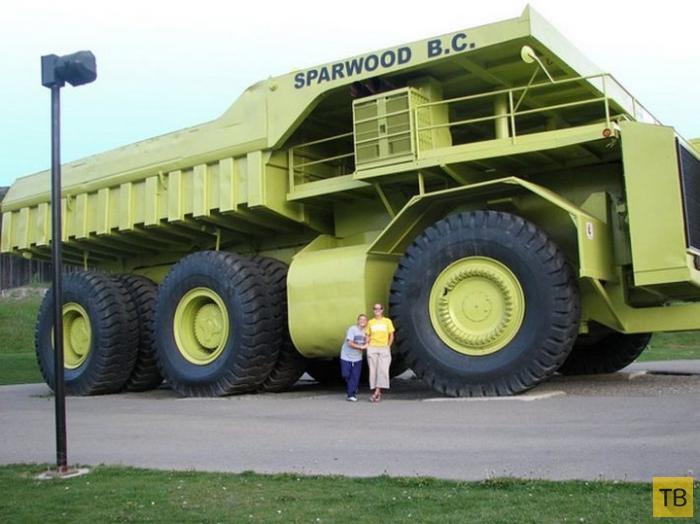 Топ 9: Самые большие в мире карьерные самосвалы (10 фото)