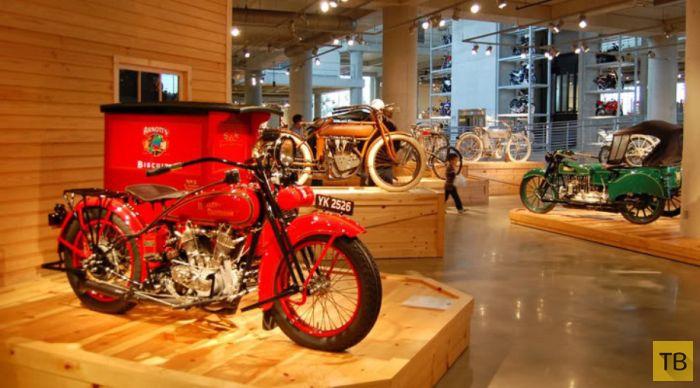 Музей мотоциклов Джорджа Барбера в Бирмингеме  (45 фото)