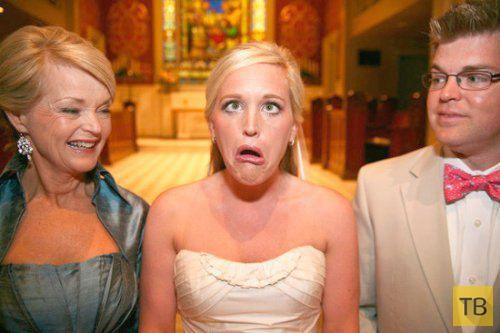 Прикольные свадебные фотографии (34 фото)