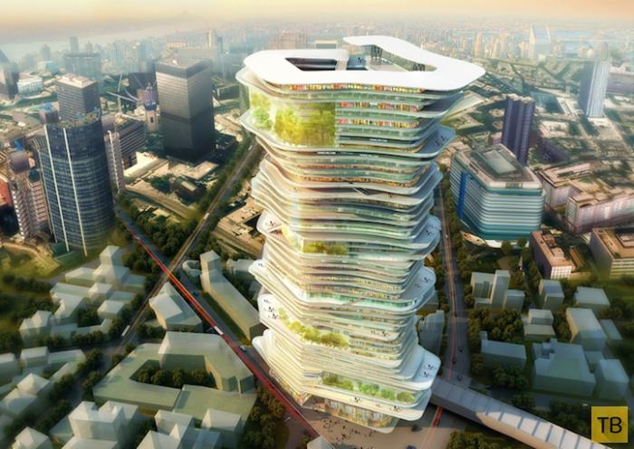«Endless City» (Бесконечный город) - небоскреб будущего (6 фото)